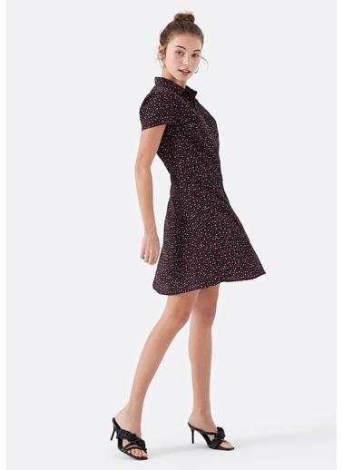 Mavi Kadın  Baskılı Elbise 130840-27062 Siyah